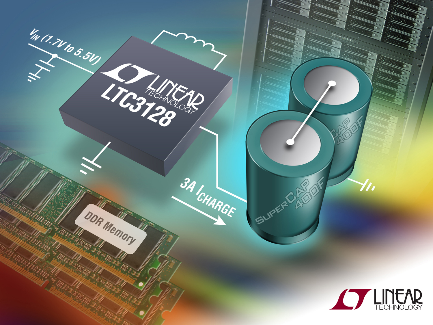 Battery Power Online 3a Buck Boost Super Capacitor Charger Charge Circuit Linear Technology Corp Has Introduced The Ltc3128 A High Efficiency Input Current Limited Supercapacitor With Active Balancing
