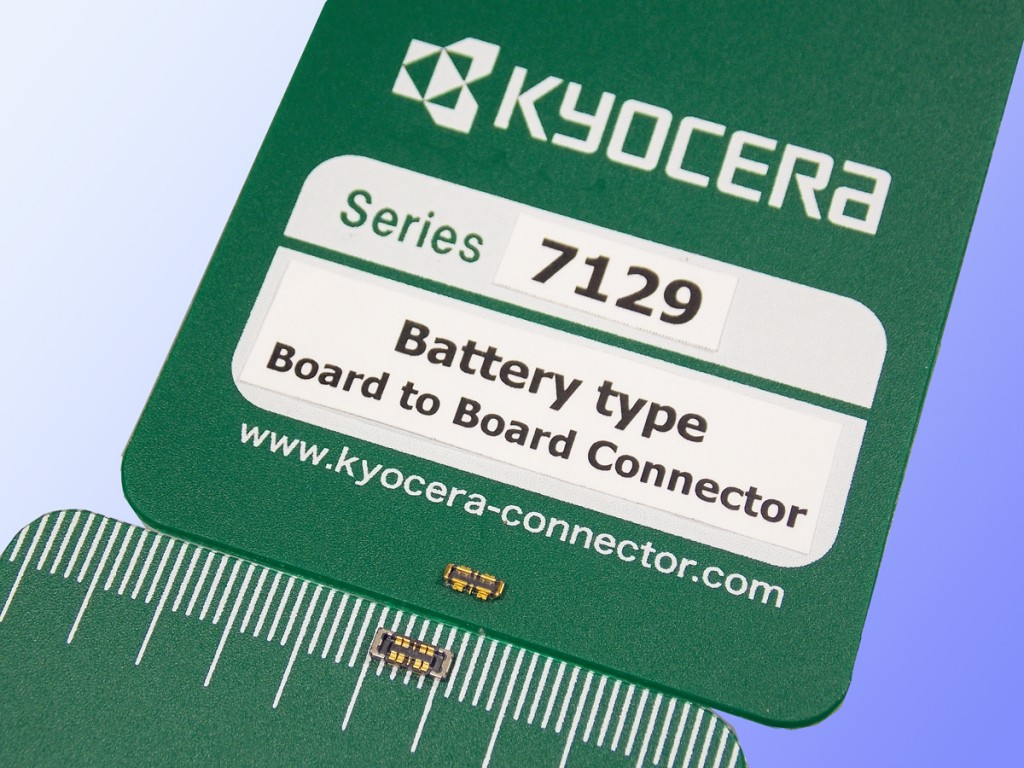 New KYOCERA 7129 Series Board to Board Connector