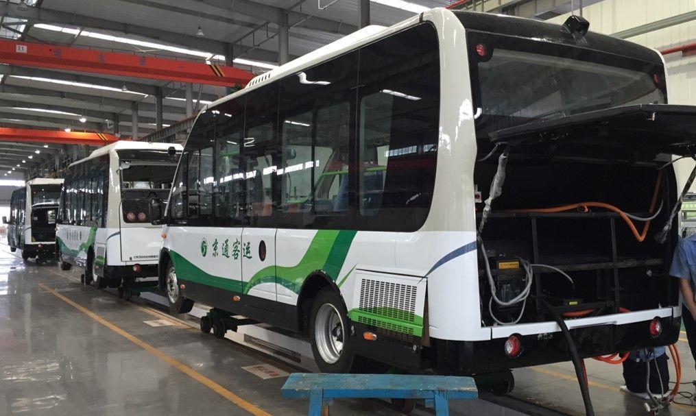 Youlion Elektrobus - Youlion e-bus