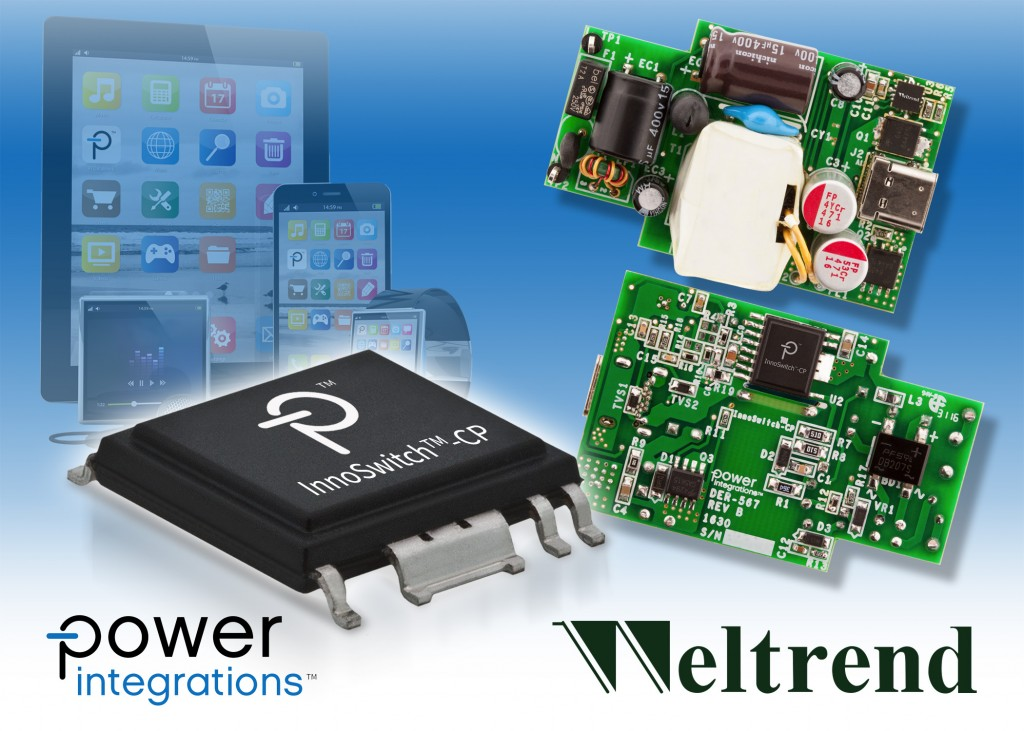 PI InnoSwitch CP April 17 Weltrend